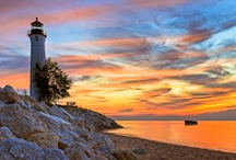 """Beautiful Michigan / Yes, I am """"Smitten with the Mitten"""" indeed!  :)  Come see where I live... / by Janna Kuiphof"""