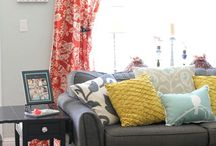 Living room / by Kelly Breithaupt
