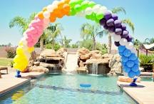 Balloon decorations / by abigail ramirez