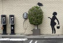 Street Art / street art, stencils, graffiti, the greatest access to expression. / by Kai Livramento