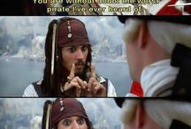 Yo Ho Yo Ho A Pirate's Life For Me ;-) / by Misty Hughes