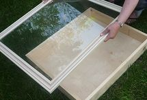 DIY:  Shadow box picture frame / by L P