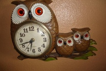 Owls, collectibles, old and new / by Jen Coffey