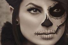 halloween makeup / by Sara Waltenburg