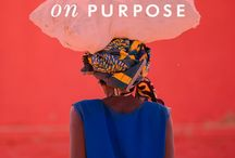on purpose / introducing our new, very special collection of pieces handcrafted by the artisans of masaro--150 rwandans re-shaping the lives of 20,000 people in their community. / by kate spade new york