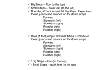 Plyometrics / Plyometrics -- also known as jump training -- is a training technique designed to increase muscular power and explosiveness / by Never Give Up Fitness