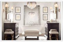 Bathrooms / by Joan Woodbrey Crocker