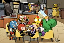 Marvel Cinematic Universe / by Mandy
