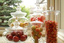 apothecary jars  / by Sylviane Mathey