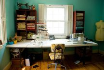 Sewing Room Ideas / by Susan Murray