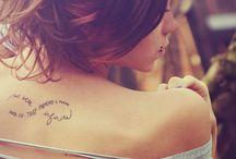 tattoos / by Cara Bubalo