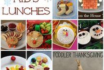 Kid Lunches / Creative & Fun kid lunch ideas  / by Renee Robinson