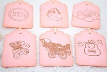 gift tags and pretty paper / by stephanie d