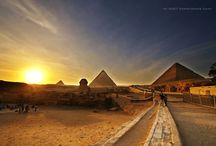 Giza , Egypt / by ✈ 100 places to visit before you die