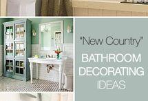 Bathroom Ideas / by Lisa Francina