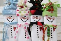 Christmas/Winter Crafts / Great projects for the holidays. / by Julie Case
