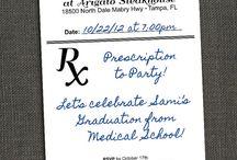 Med School Grad Party / by Stephanie Vampola