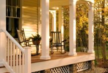 Exteriors and Porches / by Jan, blogging at... {jancooks.blogspot.com}