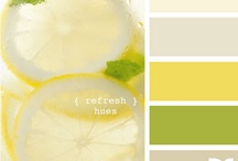 HOME: COLOR PALETTE / by Racquel Guevara
