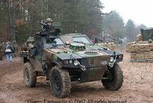 military vehicles / by Domenic Espinosa