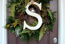 diy//wreaths / by Kim R-A