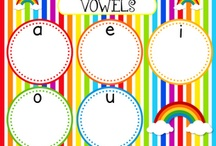 Vowels / by Kristin Johnson