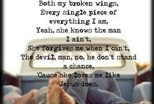 Song lyrics  / Lyrics, music / by Amy Walkup