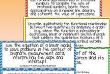 8th grade math / by Megan Ashlee