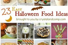 Easy Halloween Food Ideas  / by Crystal (www.crystalandcomp.com)
