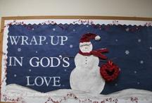 Bulletin boards for church / by Mary Dunn