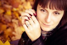Agata - sesja jesienna / by matphoto.pl