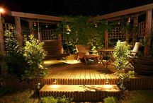 outdoor living spaces / by Dana Molaison