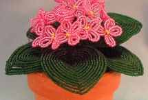 Beading: French Beaded Flowers / by Maki Narusawa Trotter
