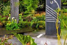 Garden Art Panels / Art that screens.  / by Ann Ayers