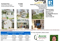 Chico Property Listings: 1 Bedroom / House Listings in Chico California, Property flyers with complete housing payment information - 1 Bedroom / by Access Real Estate Lending