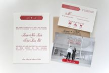 Wedding Invites / by Marie / Markhed Design