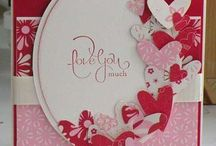 Papercrafts and cards-Valentine's/hearts/love / by Lori Wintrow