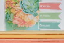 Color Inspiration / Beautiful color inspiration for you home and crafts / by Freemotion by the River
