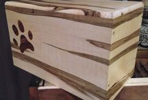 Custom pet urns / Nothing can replace a pet when they pass, but we do our best to help by creating a proper resting place for them.  Our creations can be made of wood, metal, or a combination of both. / by Frame Escape