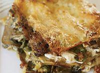 Pasta Recipes / Lasagne, Campanelle, Farfalle, Fiori, Orecchiette, Tortellini. It's all here. / by daisy mae