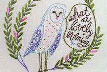 Embroidery / by Christine Athena