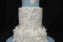 Wedding Winter / Wedding Cakes for the Winter Season / by Satin Ice