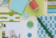 Green/Blue/Aqua/Coral / by Lynda Lapine