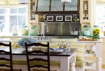 KITCHENS....MY FAVORITE ROOM / by Donna Braemer