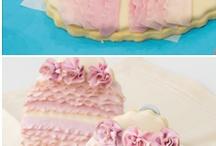 Cakes and cookies / by Maggie Eldridge Been