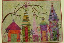 ART/SMALLER QUILTS  / by joan lavender