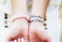 got to luv them tattoos / by Dianna Salcedo
