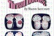 Crocheted Baby Booties / by Sharon Santorum