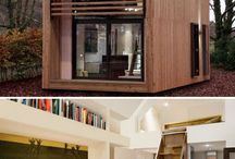 creative homes and playhouses / by Heather Buras