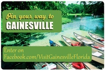 Pin Your Way to Gainesville / Our Pinterest Contest has ended but we'd love for you to repin our suggestions for a Gainesville Getaway! Happy Pinning! / by Visit Gainesville